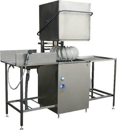 Купольная посудомоечная машина ГродТоргМаш МПУ-700-01.